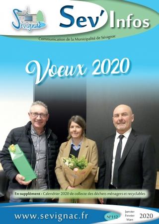 Sev'Infos Janvier - Mars 2020